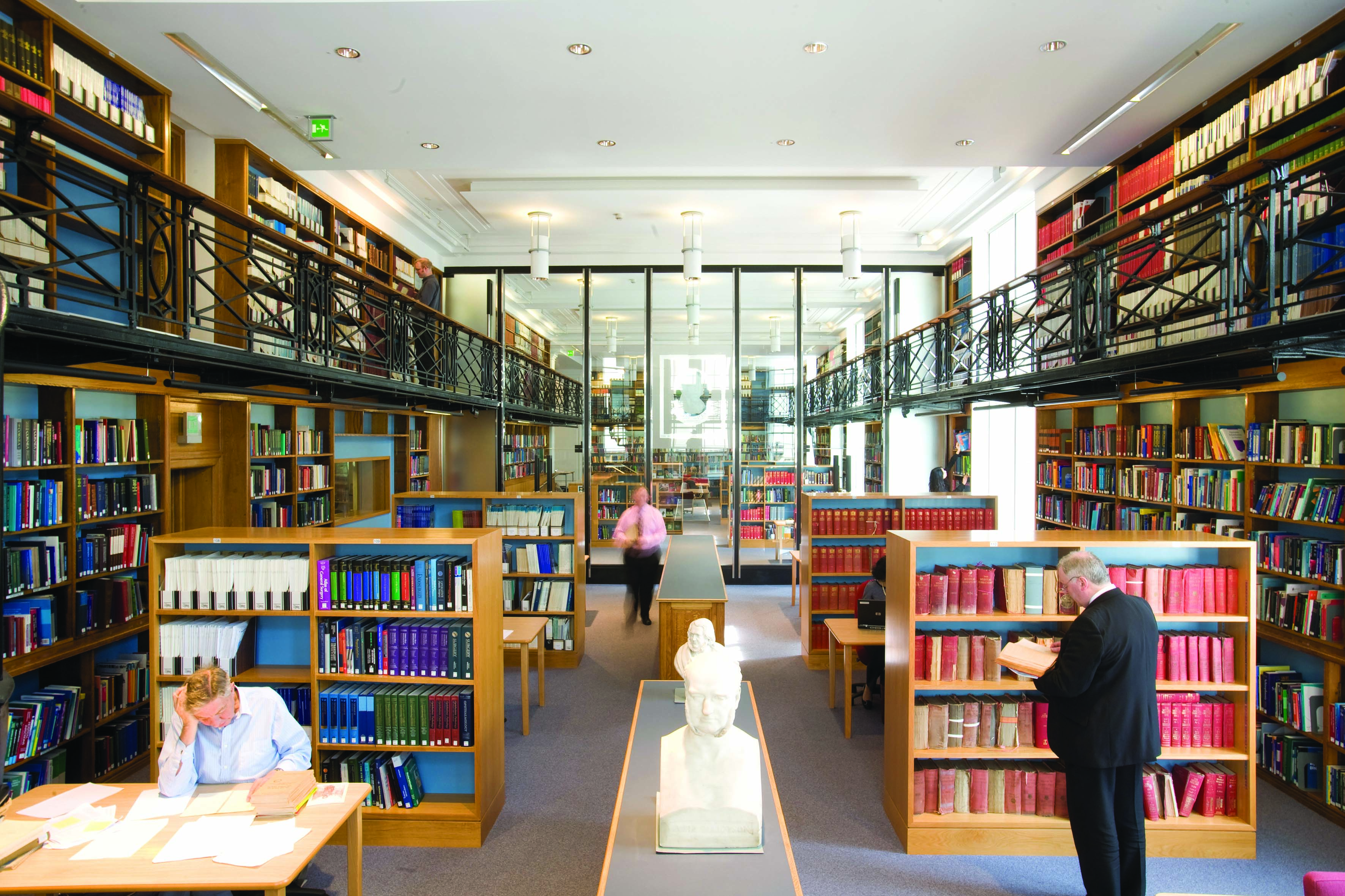 Library - wide shot of interior