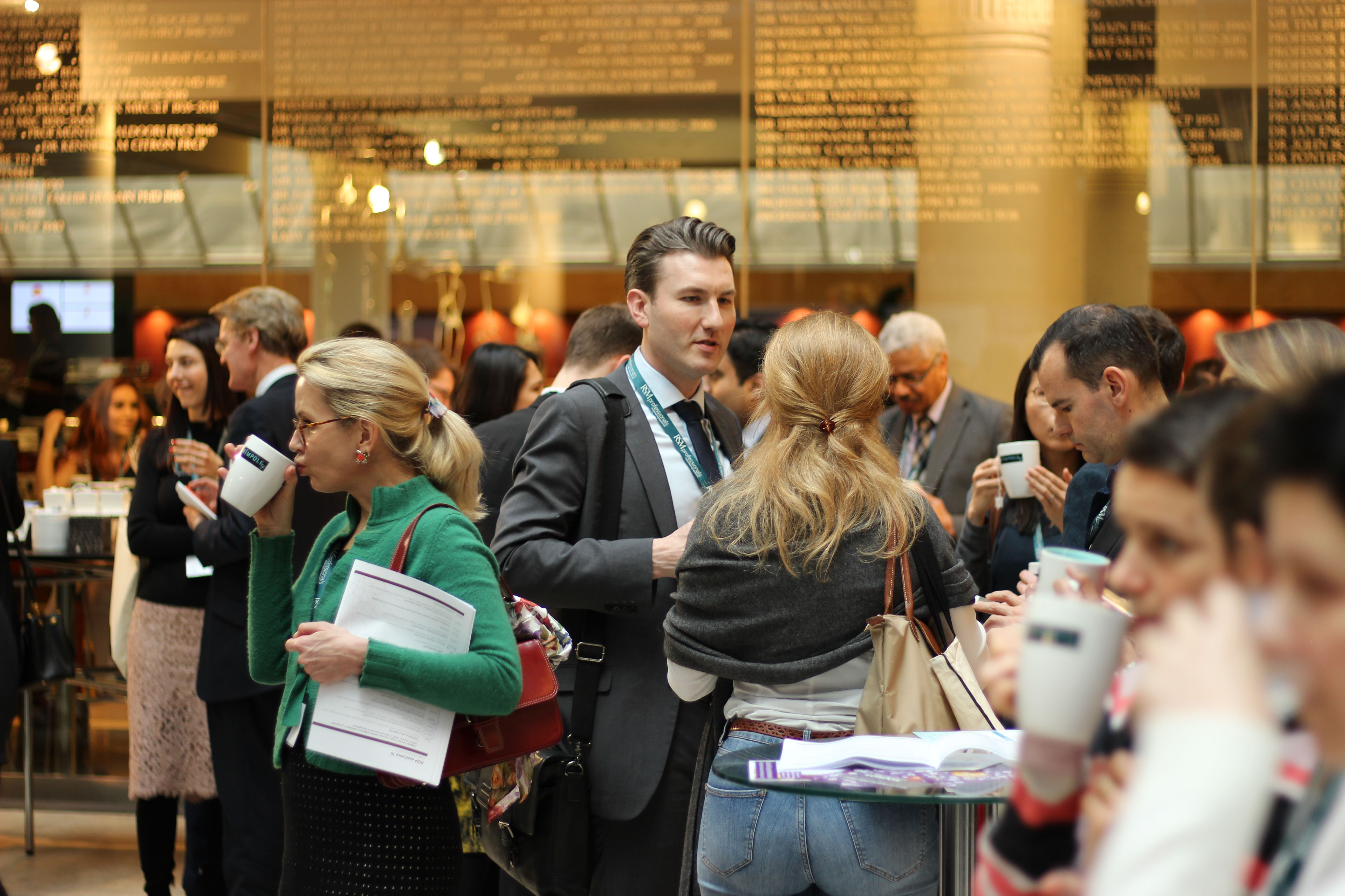 Networking at events