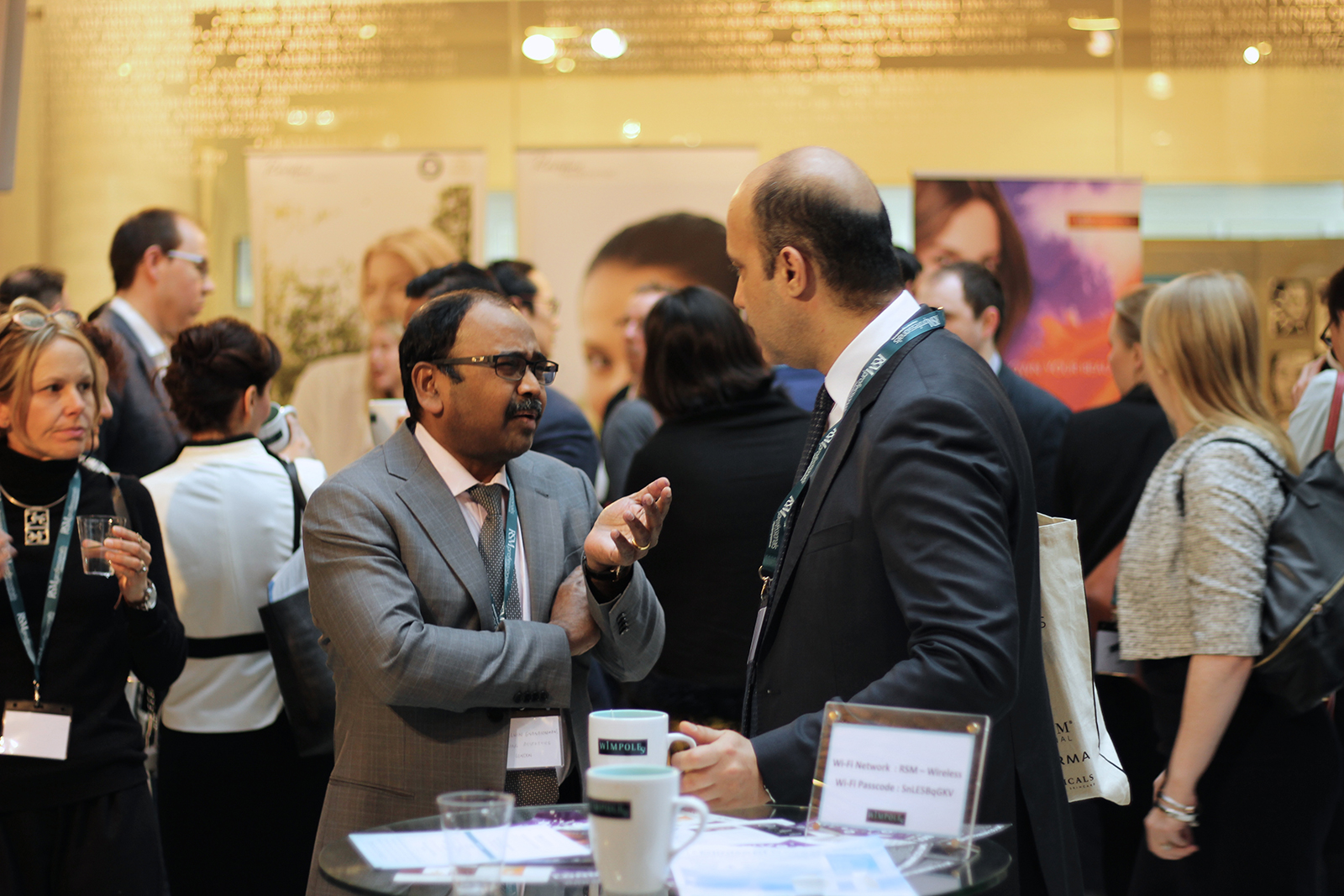 Networking with exhibition stands 2