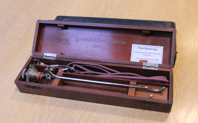 Early cystoscope